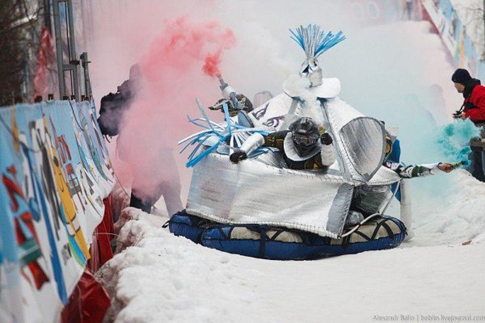 Парад креативных саней пройдет вВолгограде