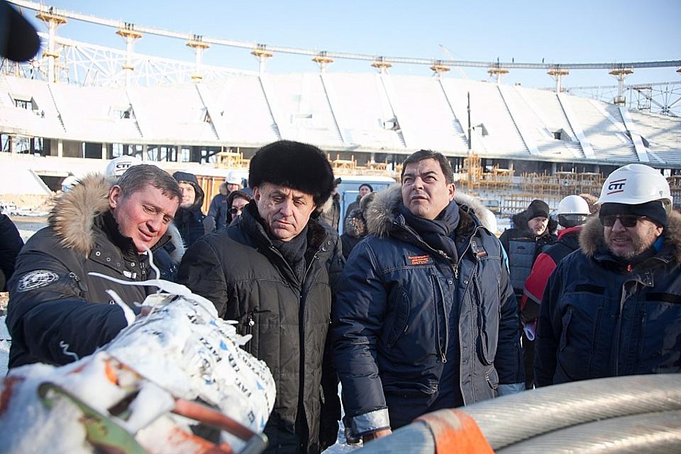 Виталий Мутко прибыл синспекцией вВолгоград