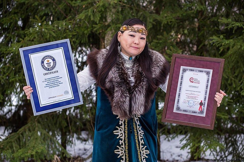Шаманка изВолгограда установила рекорд Гиннесса