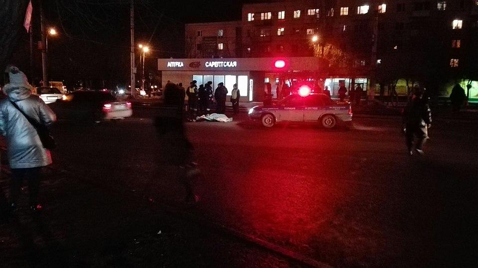 Наюге Волгограда насмерть сбили пешехода
