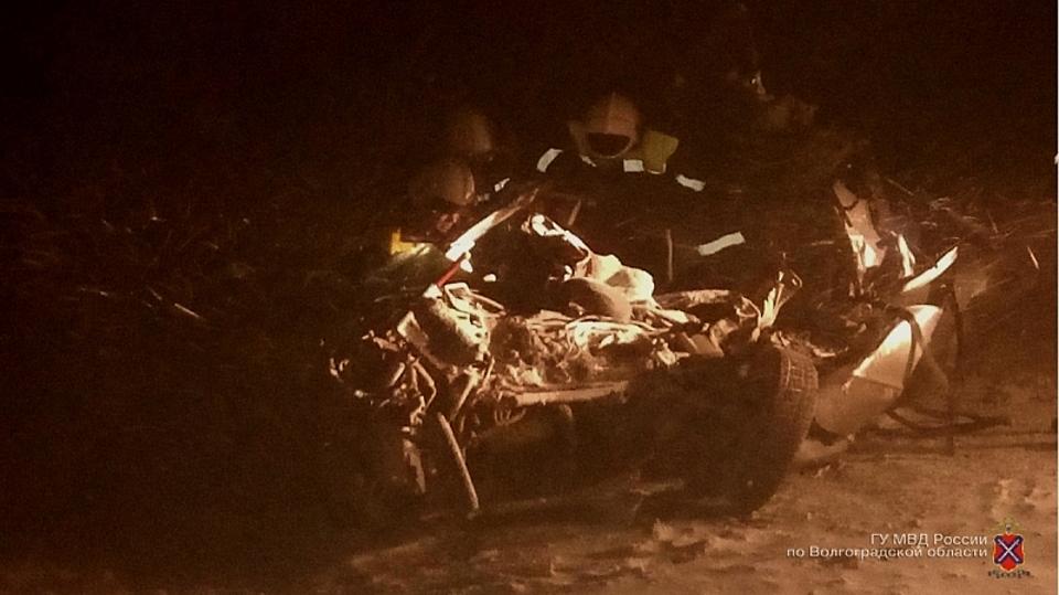 ВДТП натрассе «Волгоград— Каменск-Шахтинский» погибли два человека