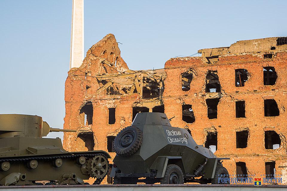 «Сталинградская битва» возвращает военную технику на обычное место