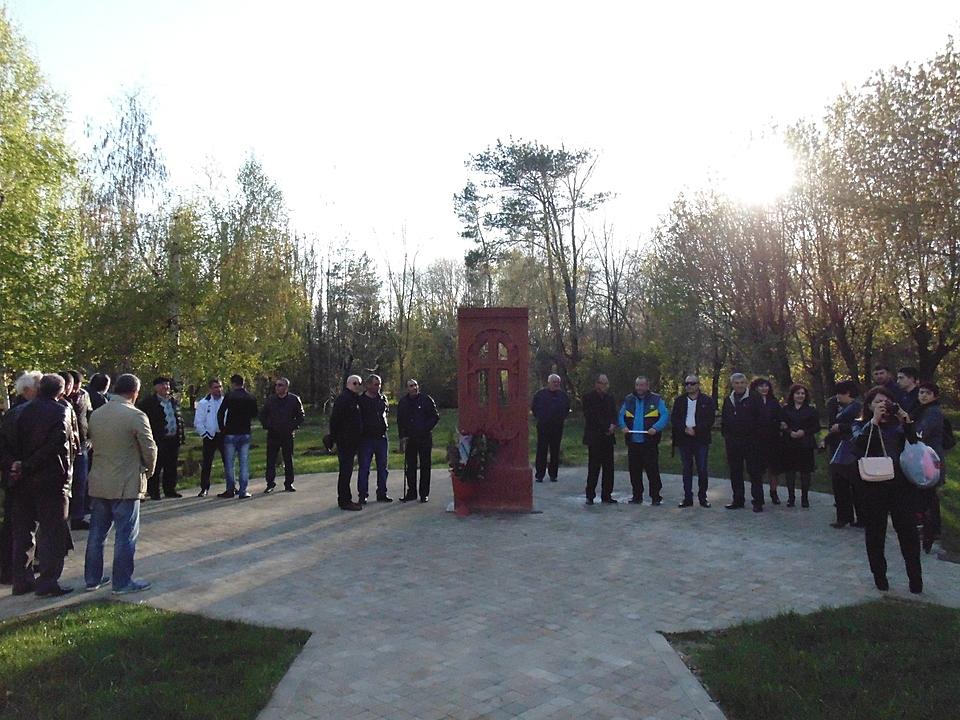 ВБрянской области впамять ожертвах геноцида армян освятили памятное место