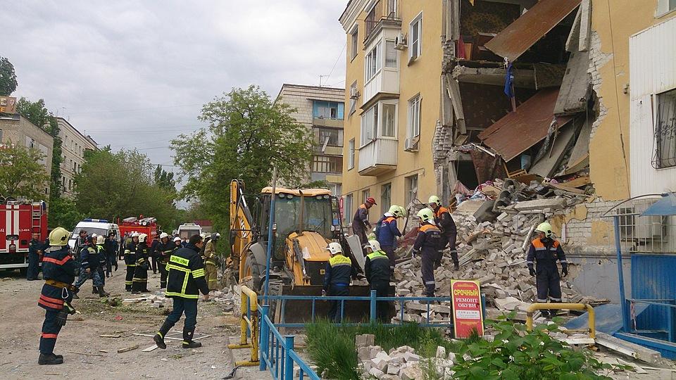 Люди остались под завалами жилого дома— Взрыв вВолгограде