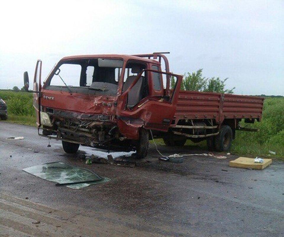 Натрассе под Волгоградом столкнулись «Ока» икитайский грузовой автомобиль: двое погибли