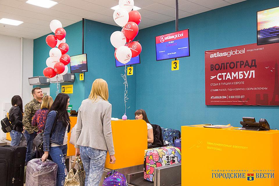 ВВолгограде открыли регулярные рейсы вСтамбул