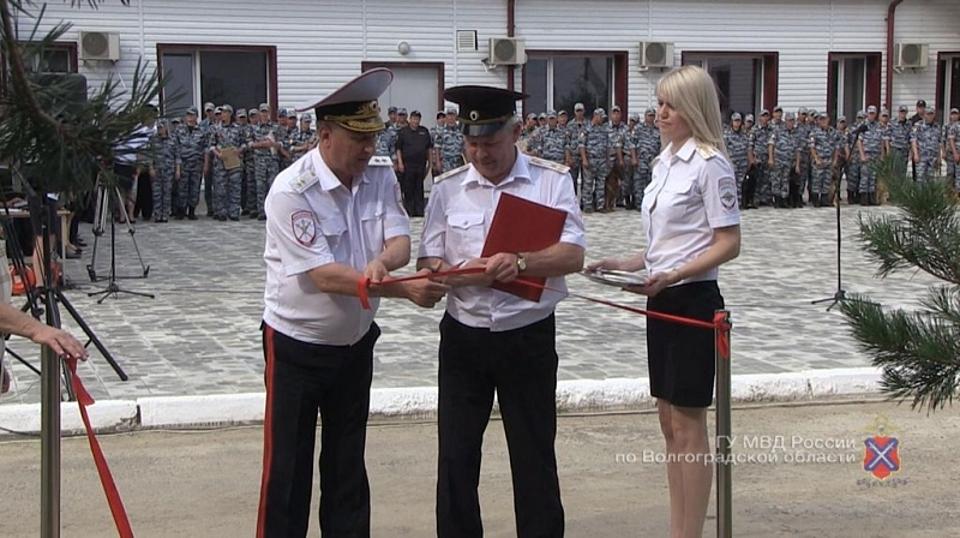 ВГУ МВД Волгоградской области открылся музей кинологической службы