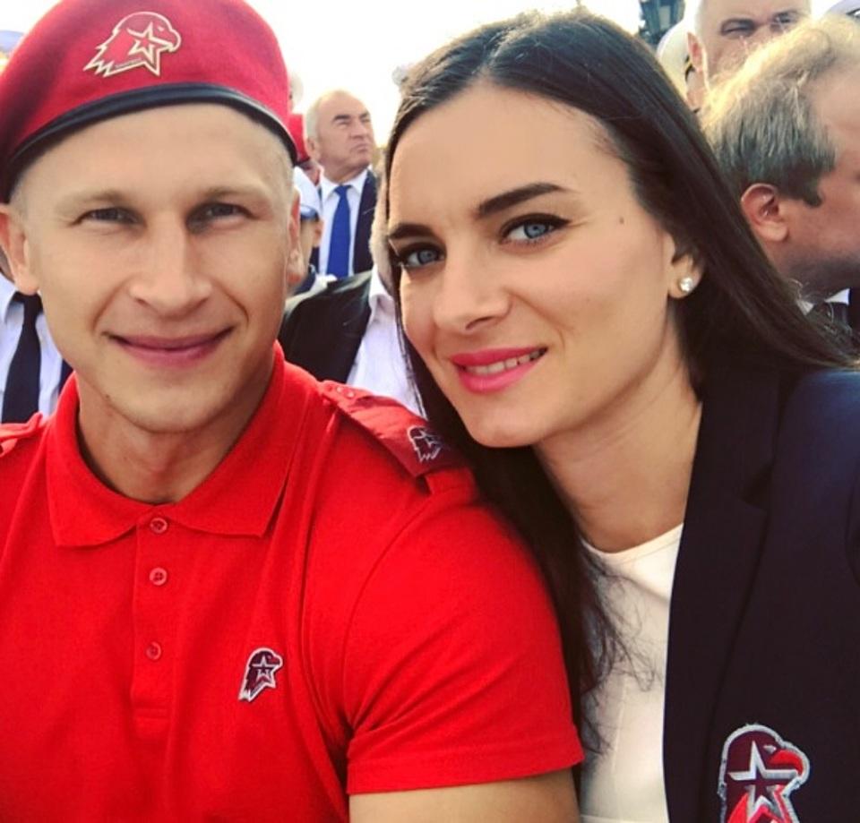 Елена исинбаева с мужем фото свадьба