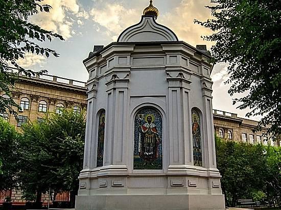 ВПетербург поводе доставили икону святого Александра Невского