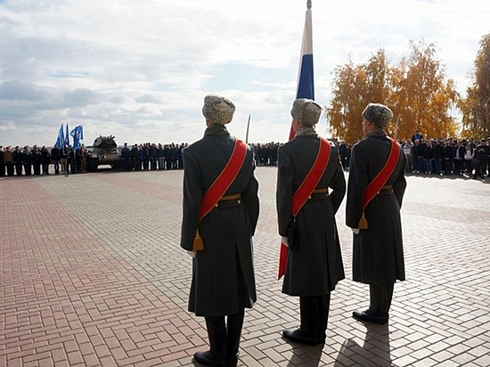 Волгоградские призывники принесли клятву наверность отчизне