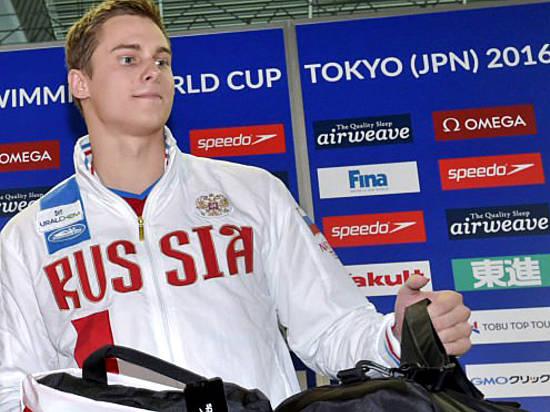 Станислав Донец всоставе сборной Российской Федерации одержал победу Кубок мира поплаванию