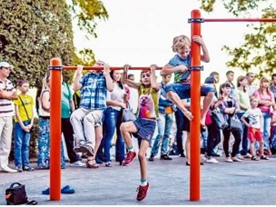ВВолгограде открылся игровой парк для детей сограниченными возможностями