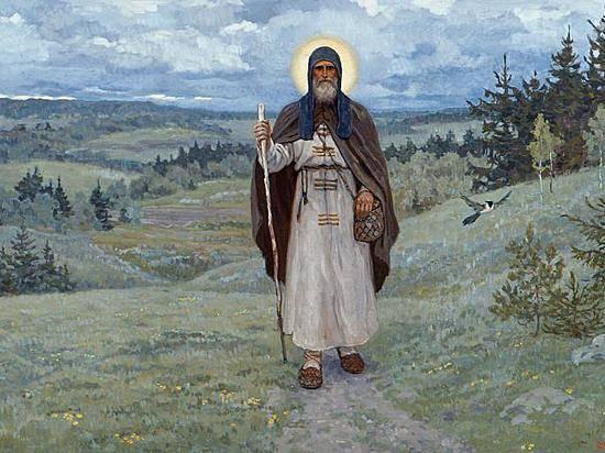 Мощи Сергея Радонежского привезли встроящийся храм впоселке Максима Горького