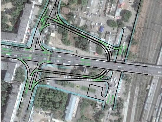 ВВолгограде разработан проект планировки транспортной развязки вокруг обновленного Комсомольского путепровода