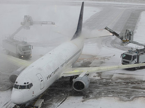 Ваэропорту Волгограда из-за непогоды задерживают рейсы в столицуРФ