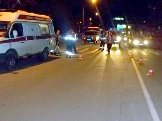 ВВолгограде микроавтобус сбил 66-летнюю пенсионерку