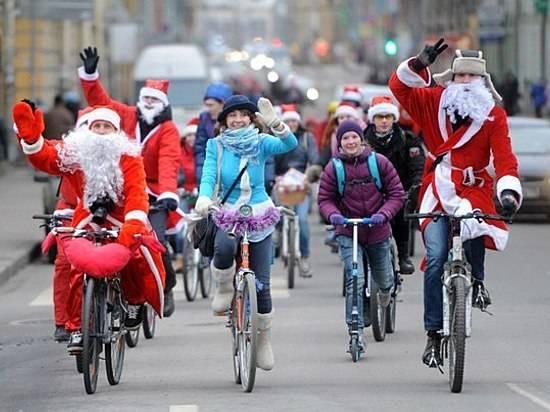 ВВолгограде 14января пройдет зимний велопарад