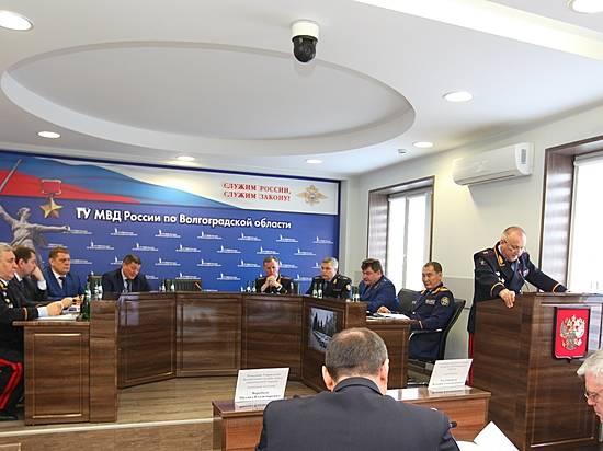 Андрей Бочаров принял участие в совещании коллегии МВД порегиону