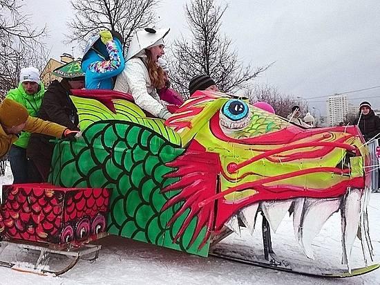 ВВолгограде состоится фестиваль креативных саней, доэтого отмененный из-за отсутствия снега