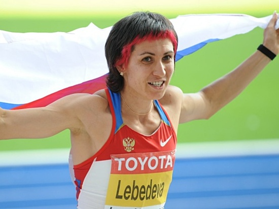 Легкоатлетку Лебедеву лишили 2-х наград Олимпиады