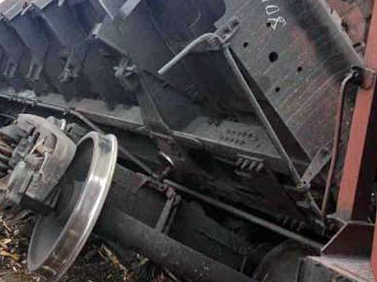 ВВолгоградской области под откос ушли 17 вагонов грузового поезда