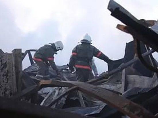 ВВолгограде обрушилось строение натерритории прежнего мачтового завода