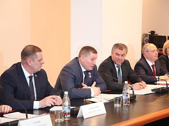 Вячеслав Володин пообещал помощь вразвитии волгоградских НКО