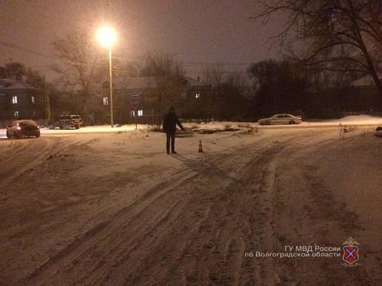 Шофёр «семерки» сбил пешехода и исчез сместа ДТП вВолгограде