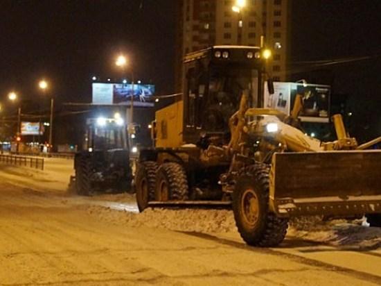Засутки вВолгограде выпала треть месячной нормы снега