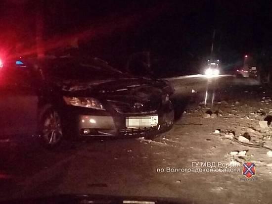Ночью намосковской трассе вДТП умер шофёр иномарки