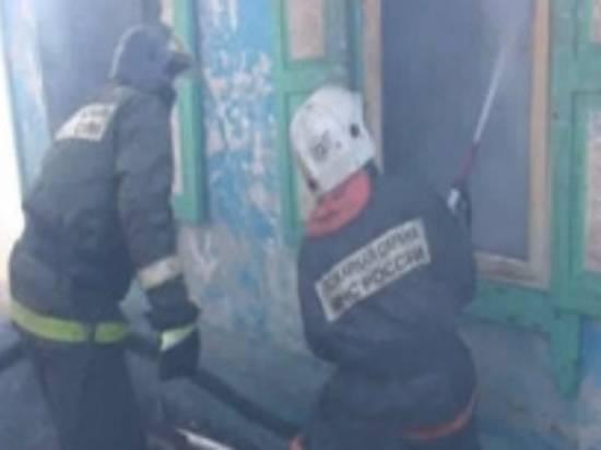 Пожар вспыхнул настанции Качалино вВолгоградской области