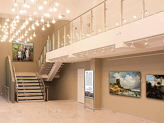 Улучшенный выставочный зал музея Машкова ожидает гостей