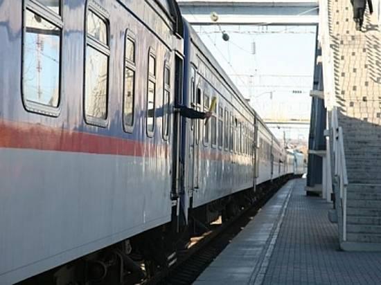 Под Волгоградом грузовой поезд ночью задавил мужчину