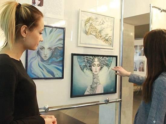 Волгоградские студенты подготовили свою художественную выставку