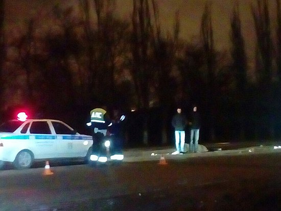 ВВолгограде водитель-лихач насмерть сбил женщину и исчез
