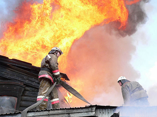 ВВолгоградской области при пожаре сгорели двое мужчин