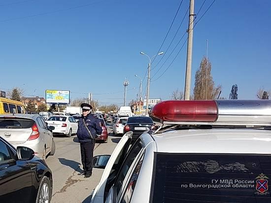 Задва часа рейда инспекторы ДПС Волгограда выявили 34 нарушителя