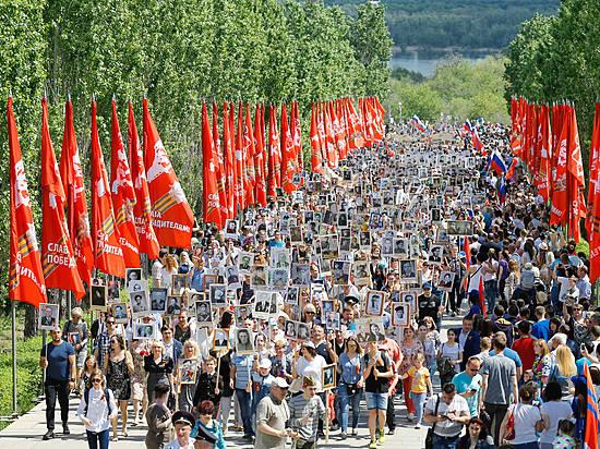 По основным улицам Воронежа пройдет «Бессмертный полк»