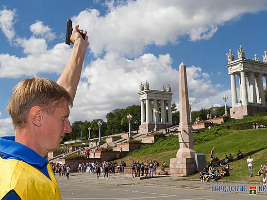 Волгоградцы пробегут марафон вчесть Дня Победы