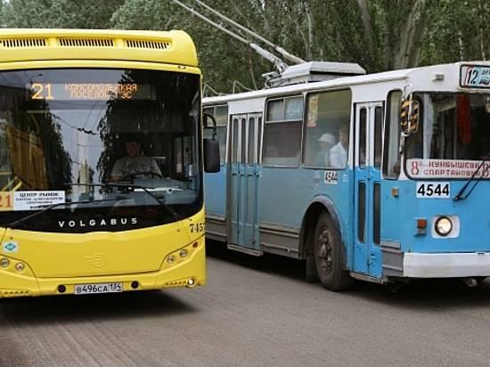 Волгоградский электротранспорт после салюта вДень Победы доставит всех созерцателей домой