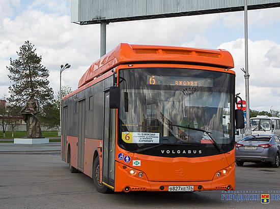 Маршруты №2, 6 и21 вВолгограде пополнили новыми автобусами