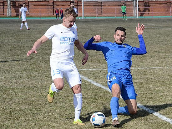 «Ротор-Волгоград» разгромил махачкалинский «Легион-Динамо»