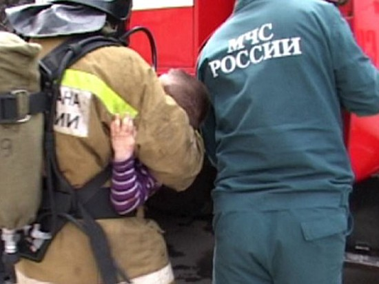 Семилетний ребенок пострадал вовремя пожара вВолгограде