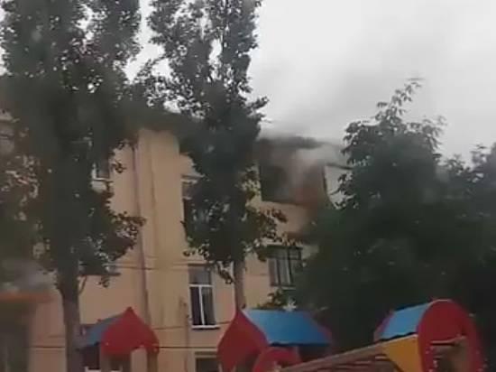 ВВолгоградской области в итоге пожара пострадал 55-летний мужчина
