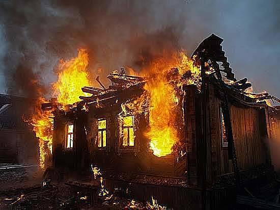 Мужчина живьем сгорел в личном доме вВолгоградской области