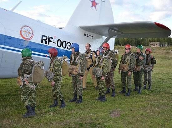 Астраханские кадеты могли погибнуть при прыжках спарашютом