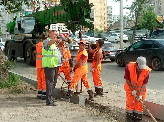 Восстановительные работы на 2-ой Продольной продолжаются полным ходом