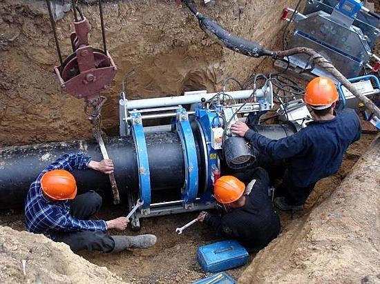 таманский групповой водопровод ооо югводоканал заменили аварийный участок внутриплощадочных сетей рчв горы