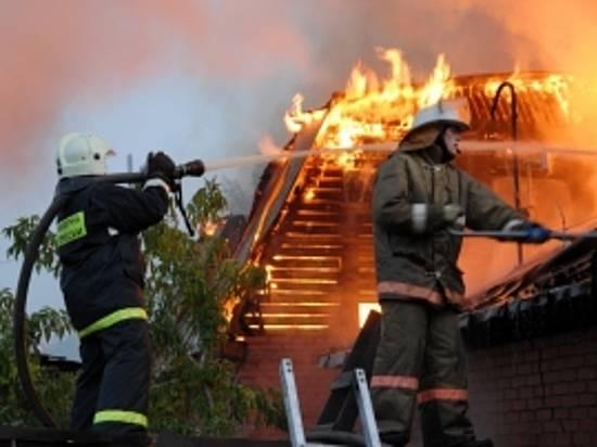 ВРабочем сожгли личный дом