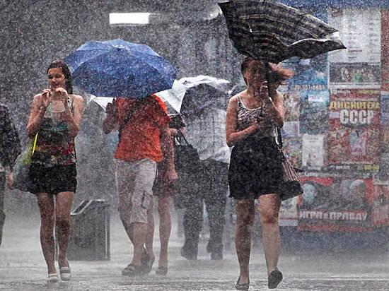 ВВолгоградской области дожди сгрозами сменили экстремальную жару